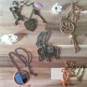 Jewelry - Jewelry - 5 Necklaces